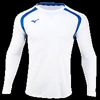 미즈노 풋볼 저지 LS 4/축구유니폼/긴팔유니폼/단체복(P2MA9K5201)