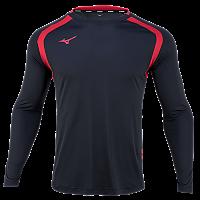 미즈노 풋볼 저지 LS 4/축구유니폼/긴팔유니폼/단체복(P2MA9K5209)