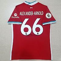 20-21 리버풀 홈-알렉산더 아놀드 66번-자컷 네임셋