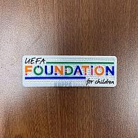 UEFA FOUNDATION FOR CHILDREN 패치-자컷
